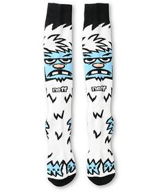Battle the freezing temperatures with a super warm blended design with an all over yeti jacquard knit pattern and impact padding in the heel for protection.