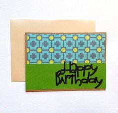 Happy Birthday Card - Birthday for Him by PrincessKCreations