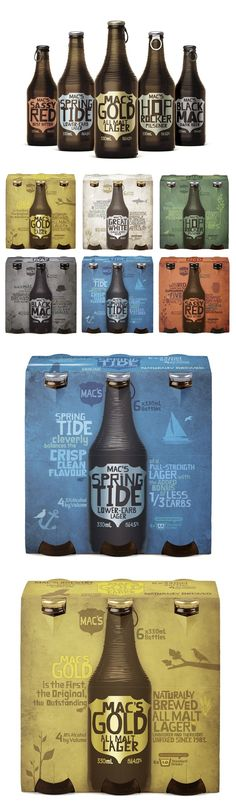Mac's Brewery #packaging #design