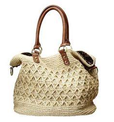 Free Crochet Bag Patterns Part 15 - Beautiful Crochet Patterns and Knitting Patterns Free Crochet Bag, Crochet Tote, Crochet Handbags, Crochet Purses, Knit Or Crochet, Crochet World, Macrame Bag, Knitted Bags, Crochet Accessories