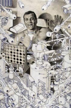 Área Visual: La pintura de Michael Reedy