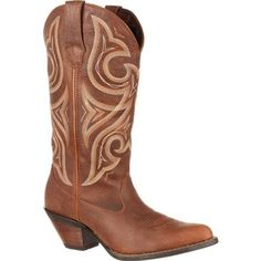 Durango Women's Crush Jealousy Wide Calf Western Leather Casual Boots ***  Click image for more details.