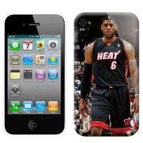 NBA MIAMI HEATS 6 LEBRON JAMES IPHONE 4 4S CASE