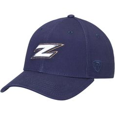 2c24eb5746a41 Akron Zips Top of the World Observer Adjustable Snapback Hat - Navy