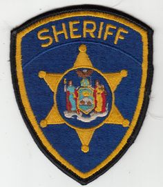 >Old< New York Sheriff Police Shoulder Patch Ny • $6.00 - PicClick