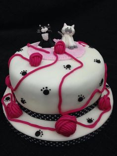 Cute Cat Cake -L'amore e vita- Cats Cakes Album