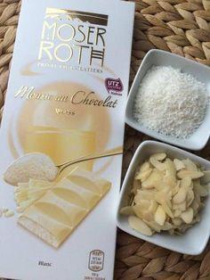 """Raffaello"" krem z bielej cokolady, recept, Krémy Dairy, Cheese, Cream, Cake, Raffaello, Creme Caramel, Pie Cake, Pie, Cakes"