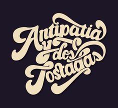 Lettering 2012-2013 by Miquel Vila, via Behance