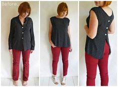 polka-blouse-2526-jeans-refashion