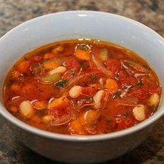 Fasolatha - zupa fasolowa po grecku