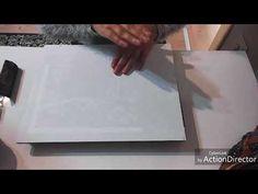 Rölyef pasta ile masif doku çalışması /wood texture application #diy - YouTube