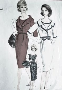 September 1960 Nina Ricci pattern
