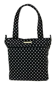 Keeping it chic and sophisticated | Ju-Ju-Be polka dot diaper bag