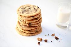 Gluten-Free Vegan Chocolate Chip Cookies - These gluten free vegan chocolate chip cookies from Beth Hillson's book The Complete Guide To Living Well Gluten Free are delicious!
