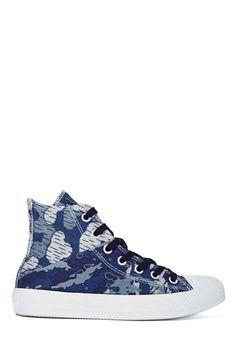 Converse All Star High-Top Sneaker - Dozar Camo | Shop Let's Get Physical at Nasty Gal