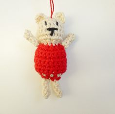 Annemarie's Haakblog: Christmas Bear Pattern