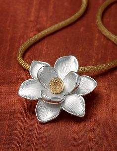 Magnolia Blossom Pendant from James Avery Jewelry