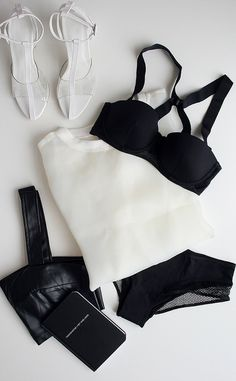 Black & White / Shoes / Lingerie
