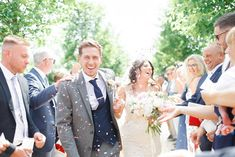Escaping the hustle and bustle of London life, Francesca Montaut and Jack Hayward's wedding day in the Cotswolds was a relaxed and idyllic affair Wedding Confetti, London Life, Bridesmaid Dresses, Wedding Dresses, Affair, Real Weddings, Wedding Day, Flowers, Pictures