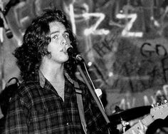 Billie Joe Armstrong performing at the Gilman Street Project in Berkeley on September 9, 1989.