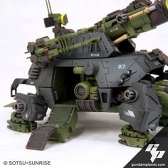 The Cannon Tortoise may be sluggish in its movement, but it sure packs a devastating punch with the massive beam cannon on its back and the pair of dual-barrel beam cannons on the sides of its heavily armored shell!