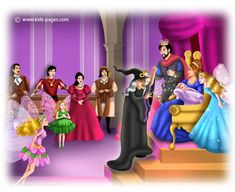 A Sleeping Beauty 2 Sleeping Beauty 2, Story Sequencing, Kids Pages, Language School, Falling Down, English Language, Christening, Fairy Tales, Sleeping Beauty