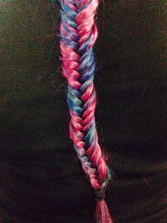Purple/Blue fishtail