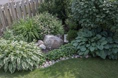 Garden 2 - No Home Without You of Garden Edging Stones, Front Yard Landscaping, Shade Garden, Stepping Stones, Home And Garden, Trees, Gardening, Landscape, Simple