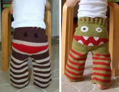 """pantalons """"monstres"""""""