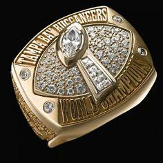 Super Bowl XXXVII ~ Tampa Bay Buccaneers   Super Bowl Rings ...