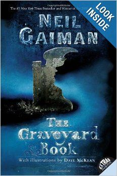 Cover image for The Graveyard Book by Neil Gaiman, illustrated by Dave McKean. A dark and creepy take off from Kipling's Jungle Book. Neil Gaiman, Dave Mckean, This Is A Book, Love Book, Books For Boys, Childrens Books, The Graveyard Book, Books To Read, My Books