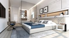 modern bedroom suite
