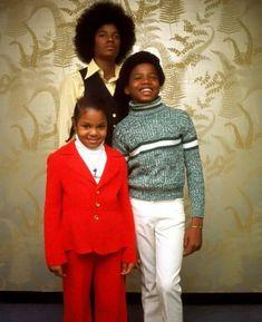 Michael, Randy & Janet Jackson