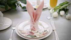 Make adorable bunny napkins for your Easter table. Get step-by-step video instructions for folding napkins into bunny ears, plus essential how-to tips.