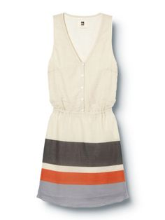 QSW Deck Stripe Dress - QUIKSILVER