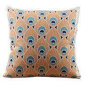 Graceful Peacock Feather Decorative Pillow Co... – AUD $ 19.40
