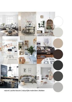The person who prepares to host lavish fundraisers should have a different living room than the individual who dreams just of crashing in front of the TV. Interior Paint Colors For Living Room, Living Room Decor, Living Room Inspiration, Interior Inspiration, Moodboard Interior, Gray Interior, Interior Design, Pintura Exterior, House Colors