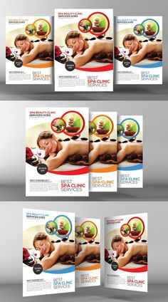 Spa Flyer Template. Flyer Templates. $6.00