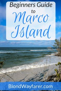 Marco Island tips | Guide to Marco Island | Florida Travel Tips | Florida | Visit Florida | Travel Inspiration | Travel United States | Travel North America | Wanderlust | Beach Vacation | Solo Female Travel | Travel Blogger | Vacation Inspiration