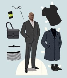 Paper Dolls that Actually Work - Starchitect - professional menswear