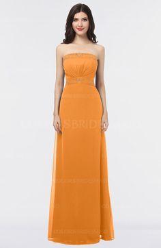 08e551eb655 ColsBM Elena - Orange Bridesmaid Dresses