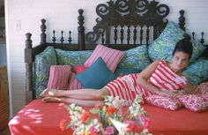 Lilly Pulitzer at home 1965.