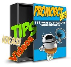 """[GIVEAWAY] The Promobot 365 [PROMOTE YOUR BUSINESS EVERYDAY]     We all need more traffic. We need more people to see our services or products. Because we know that if we had more people, we'd get more sales! It's simply a numbers game.     The Promobot is a collection of easy to follow """"how to"""" videos, tips and tricks you can use immediately that will help bring you more visitors!     http://www.free-software-license.com/2017/02/giveaway-promobot-365-promote-your.html"""