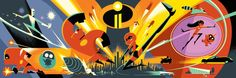 Brand-New Incredibles 2 Concept Art Was Just Revealed at D23 Expo