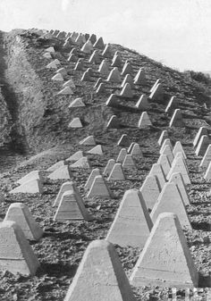 US XIX Corps, Across the Siegfried Line, October 1944 | EUCMH Siegfried Line, Last Stand, Fortification, Forts, Interesting History, War Machine, Bunker, Shelters, Military History