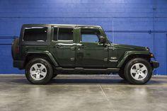 2011 Jeep Wrangler Unlimited Sahara 4x4 2010 Jeep Wrangler Unlimited, 2008 Jeep Wrangler, Green Jeep Wrangler, Jeep Sahara, Jeep Wave, Suv For Sale, Chevy Girl, 4x4, Jeeps
