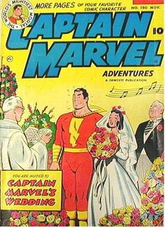 This pin is inspired by one of our members at FyndIt. She is looking to buy comic book wedding covers and needs help tracking them down. She is willing to pay a bounty reward for every wedding cover matched. If you know where to find some, you could earn a couple of bucks. Log in to see if you can help add to her comic collection. www.fyndit.com #Comics #ComicBooks #Weddings #JustMarried #CaptainMarvel