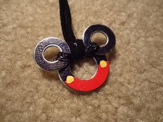 Scrappy Ideas: Mickey Washer Necklace