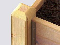 This raised garden bed kit is the easy way to grow your own fruit and vegetables. Made from thick timber boards & corner posts it will last many years of gardening Raised Bed Kits, Raised Garden Beds, Raised Beds, Timber Boards, Allotment, How To Level Ground, Garden Planters, Organic Gardening, Wellness