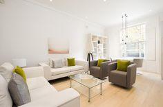 Notting Hill Garden Apartment - Open Plan Living Room